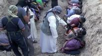 ISIS slaughter fields: Shia Muslims rounded up and shot in the head in new video