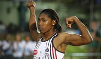 She's back: Semenya records treble feat with Olympics preparation firmly on track