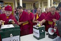 Tibetans in exile re-elect Harvard Law grad as leader