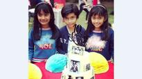 In pics: Farah Khan's triplets turn 10, brother Sajid Khan hosts a star-studded birthday bash