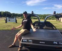 Alaskan seeks to document bringing DeLorean Back to Alaska