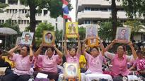 All roads lead to Thai hospital as hundreds pray for king's health
