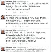 Venkaiah Naidu slams Air India on Twitter for delaying flight