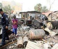 10 people killed, injured including police members in double bombing north of Baghdad