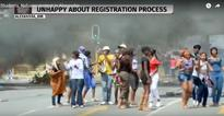 Central Johannesburg College protests close off Alex roads