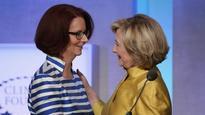 Australia's first female PM Julia Gillard: 'I am disappointed for my friend Hillary Clinton'