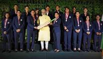 See pics: PM Modi meets Mithali & Co., says 'You have not 'lost'