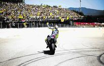 Rossi's touching tribute