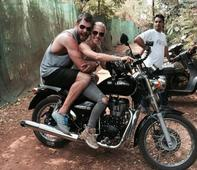 Every Indian travel story features a Royal Enfield, even Chris Hemsworth's