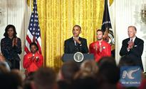 President Obama Honors U.S. Olympic and Paralympic Teams at White House