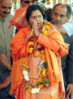 Uma rushes to Mayawati's defence: As a woman I know how she feels
