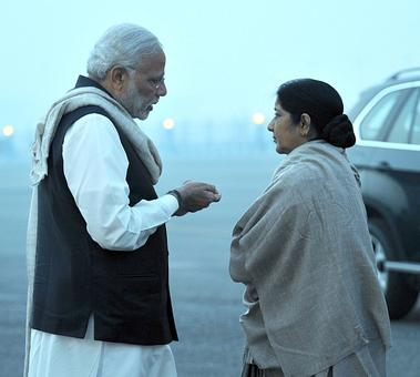 Attacks on Indians: This government can never keep silent, says Sushma