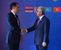 Heads of delegation in Armenia for CSTO Collective Security Council meeting