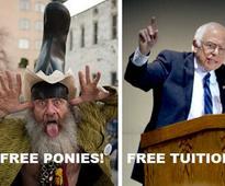 Democratic Party's socialist Bernie Sanders is a libertarian?
