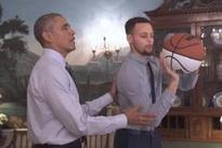 Obama mentors NBA phenom Steph Curry