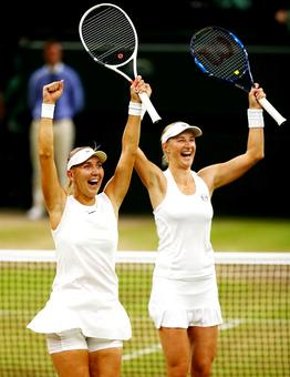 Meet Wimbledon men's and women's doubles champions
