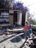 House of Aftab gutted by short circuit of electricity