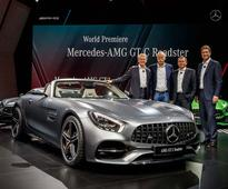 Star Of The Mercedes-Benz Media Night At Paris — Mercedes-AMG GT Roadster