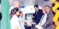HFCL, HelpAge launch ambulance bus