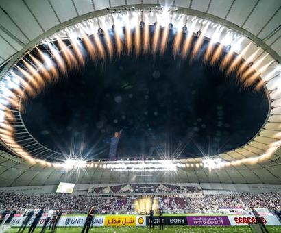 Football Briefs: WC stadium shaped like Arabian cap