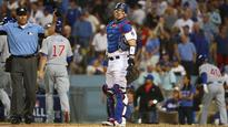 Cubs rout the Dodgers, 10-2, even series at 2-2