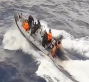 Police intercepted 5,700 pounds of cocaine near the coast of one of Europe's drug gateways