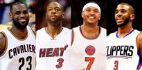 Peep the Snapchat Filter LeBron, D. Wade, Melo and CP3 Got