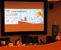Barlow challenges CETA in Poland