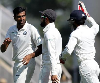 Ashwin FASTEST to 300 Test wickets, breaks Lillee's record