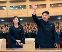 Kim Jong Un's wife spotted in public first time in nine months