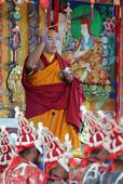 Panchen Lama appreciated at 1st kalachakra ritual