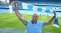Willy Caballero is confident he can fill in for Joe Hart at Manchester City