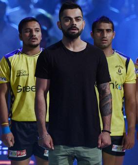 PHOTOS: Kohli, Bachchans, Ranbir kick off Pro Kabaddi's 4th season