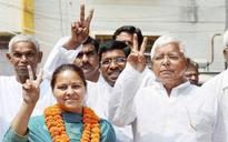 Lalu's daughter Misa, Jethmalani file nominations for Rajya Sabha polls