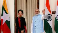 Aung Suu Kyi meets PM Modi, India and Myanmar to enhance security, trade ties
