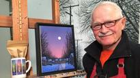 CBC's Comfort and Joy campaign connects artist Wilf Perreault with community