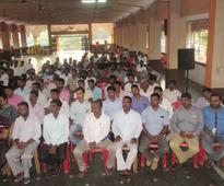 Former CM Jagadish Shettar visits Bhatkal ahead of MLC elections