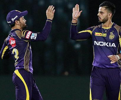Heroes of the Game: Spinners turn it for KKR