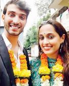 Shweta Pandit has traditional wedding in Jodhpur with Italian boyfriend