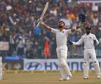 Kohli equals Tendulkar, Sehwag in scoring record double centuries