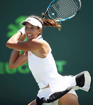 Italian Open: Muguruza survives day of shocks, Kerber out