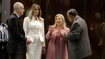 Melania Trump visits museum of African-American history with Israeli PM's wife