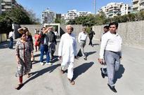 Bodakdev park: Ex-BJP MLA Kanu Kalsaria joins protesters
