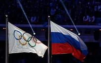 The Latest: Russian Olympic official says report out of date