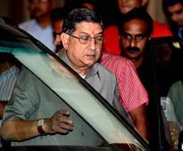 Former BCCI chief N Srinivasan, ex-secretary Niranjan Shah get SC notices for attending SGM