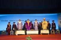 Xavier University, Bhubaneswar celebrated the 2nd Convocation