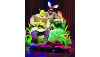Shrek the Musical show from March 9 to 19