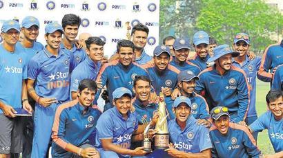 India beat Sri Lanka by 34 runs to lift U-19 Asia Cup title