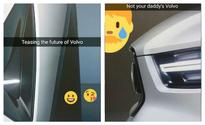 Volvo gives us a glimpse of the new V40 on Snapchat