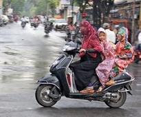 Rain leading to increase in mishaps